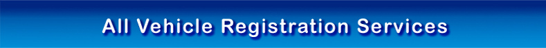 All Vehicle Registration Services