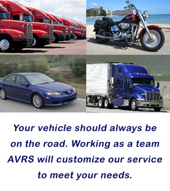 Contact AVRS for your vehicle registration and titling needs!